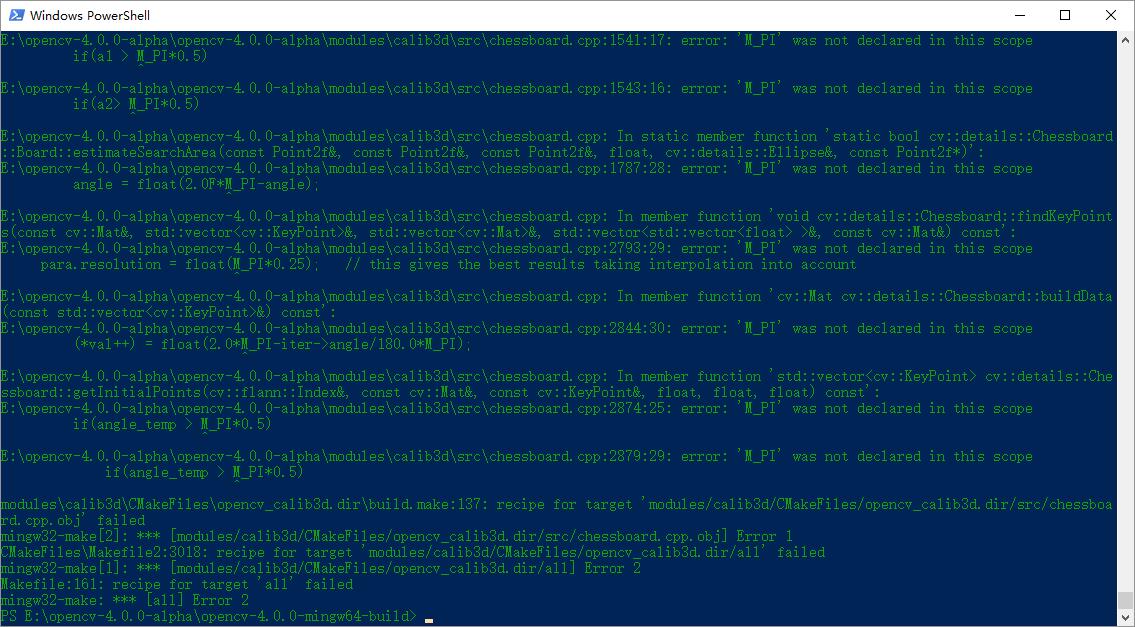 OpenCV使用CMake和MinGW-w64的编译安装| HuiHut